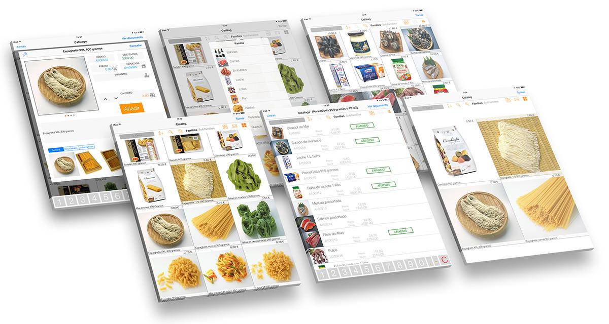 APP tablet para comerciales y vendedores OrdersCE