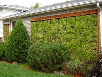 jardines verticales - en paneles