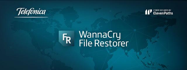 recuperar información borrada wannacry