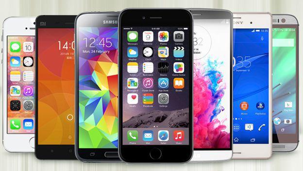 smartphone de posibles robos