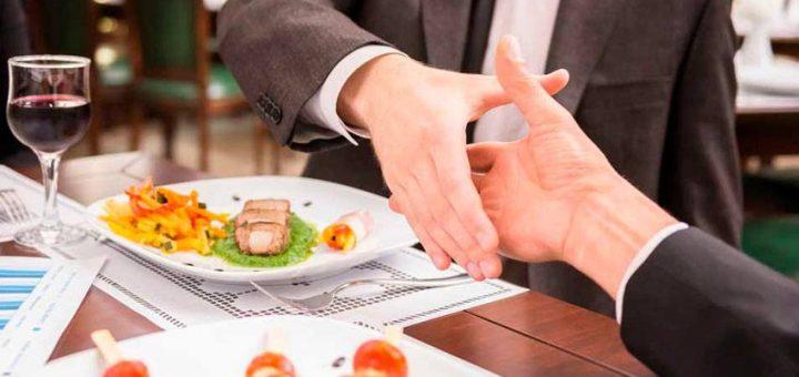 las comidas de negocios