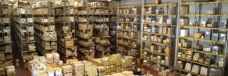 organización del almacén