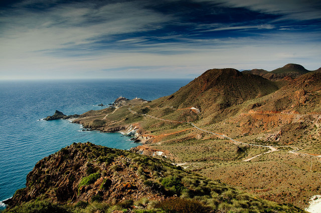 destinos de playa El Cabo de Gata y el Mediterráneo