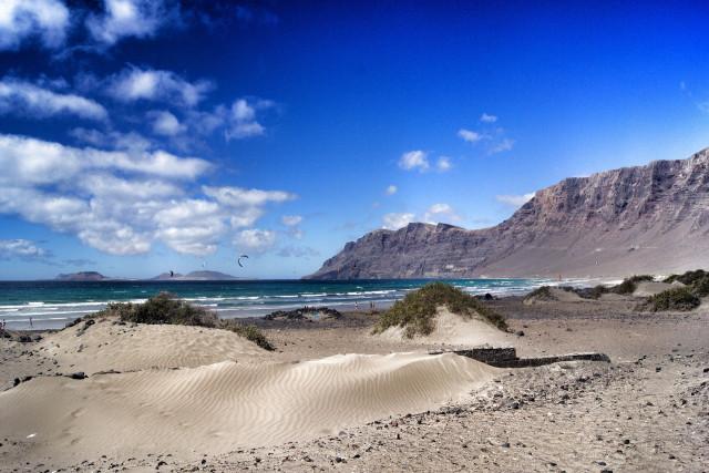 destinos de playa Famara, en Lanzarote
