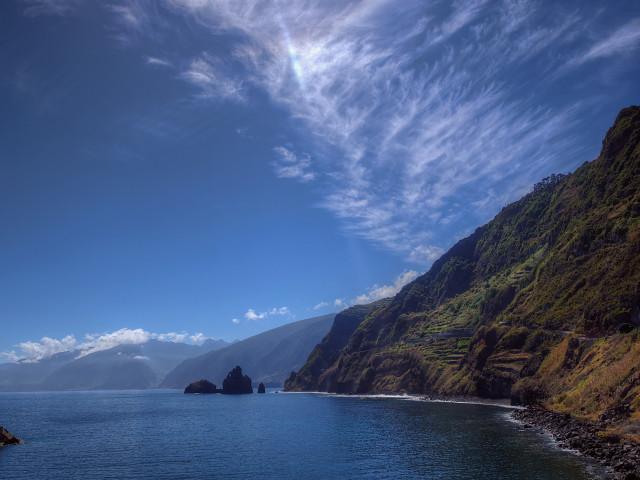 destinos de playa Costa de Madeira