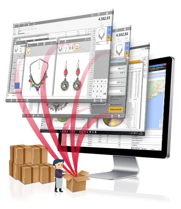 simplificar la gestión comercial