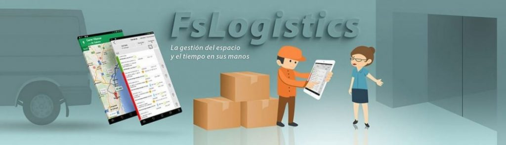 control de logística y reparto